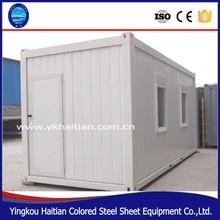Contenitore casa mobile prefabbricata 20ft, casa del contenitore