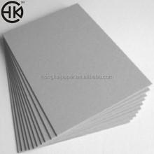 China competitve hard board paper grey board