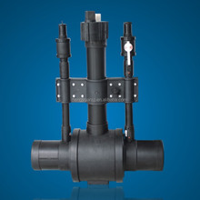 Ball Valves Fitting with booster