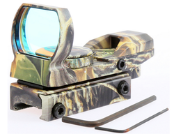 Camouflage Red & Green Laser Sight Red Dot Sight For Pistol Hand Gun Rifle