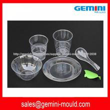 molde plástico para vajilla