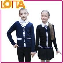 OEM factory price russian children boys girls teenager sweater jacket school uniform