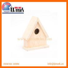 TRIANGLE ROOF BIRD HOUSE 23X16X6.9CM