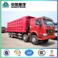 Howo 12 rodas 8 X 4 caminhão de despejo