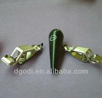 small mini high precision brass alligator clip