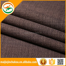 Fashion linen fabric upholstery for sofa or curtain/ polyester sofa fabric