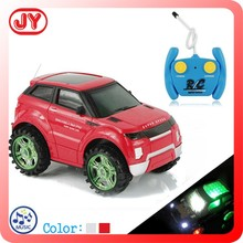 2015 new plastic rc toy car with 3D flashing light and music
