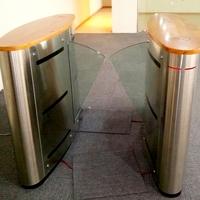 new sytle low cost pedestrian handicap passage flap barrier gate