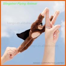 Novelty Customized Plush Flingshot Flying Singshot Monkey