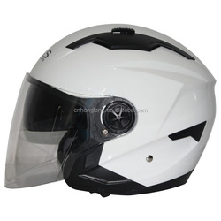 Motorcycle Accessories,Safety Protection Open face helmet with Double Visor,Sun Visor helmet