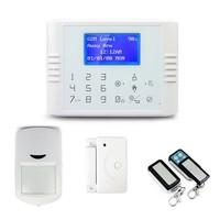 Touch keypad GSM+PSTN home alarm system Security 2 way GSM Alarm power failure gsm sms alarm