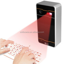 Cool!! wireless laser keyboard mouse via bluetooth or Usb for notebook,android table, ipad mini case,laptop