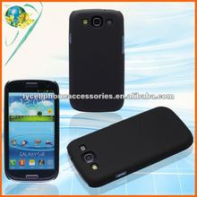 New Plasrtic Case For Samsung Galaxy S3 i9300 Black Hard Back Skin Cover