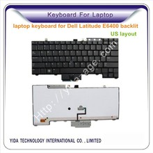 us layout keyboard replacement for Dell Latitude E6400 backlit