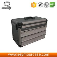 Black Brand Aluminum Tool Box for Car Battery
