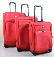 Stock 3pcs car roof luggage