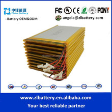 3.7v 1050ma lithium ion battery cell with factory price