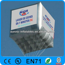 cubic customized inflatable advertising balloon