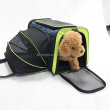 Sedex Audit!!! Foldable Pet Travel Carrier Bag With Extension Mesh