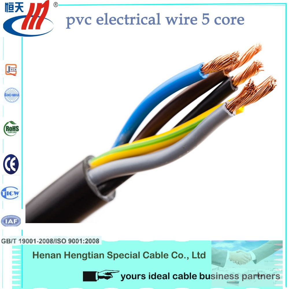 Electrical Cable Product : Pin core waterproof electrical power cable and wire