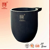 Foundry Clay Graphite Crucible pot for melting metals