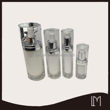 15g,30g,60g,120g acrylic cosmetic face cream bottle