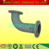 Flexible Flange Carbon Steel Rubber Lined Elbow Pipe Fitting