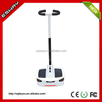 Newest type ES03 CE/RoHS/FCC approved chariot three wheel action scooter with 2 front small wheels motorcycle