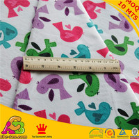 MOQ 10MTS 2015 new design high quality Oeko-tex 100 and SGS bird print fabric PM150529058