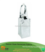 shoulder bag with water bottle holder Bags for LessTM Silver Holiday Wine Bag