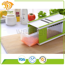 Hot Sell Four Sided 5 in 1 Vegetable Slicer Grater With Storage Box