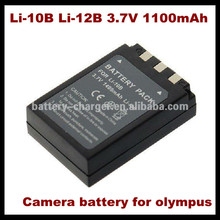 Lithium battery pack 3.7v LI-10B/12B For Olympus X-1, X-2, X-3