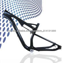 Milagro T700C de carbono de doble suspensión bicicleta de montaña marco del mtb
