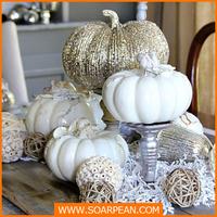 Wholesale Customized Fiberglass Artificial White Pumpkin