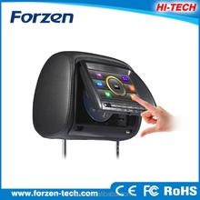 "7""Digital Car Headrest DVD with touch screen,USB,SD,Games"