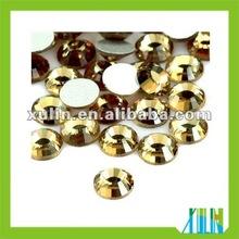 Wholesale flat back glass beads