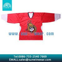 High quality custom design canada team ice hockey jersey, ice hockey shirts, hockey wear