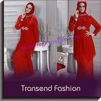 Transend Latest Pakistan style beautiful neck design ladies kurta