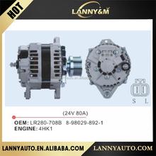 Made in China Aftermarket car alternator for 4HK1 Engine 8-98029-892-1 LR280-708B