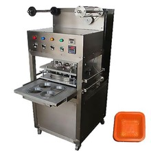 Food Tray Sealing Machine | Food Tray Plate Sealing Machine | Automatic Food Tray Sealer