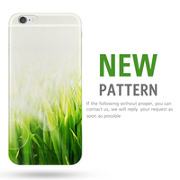 manufacturing custom printed clear 3D Hard PC Back Phone Case transparent for iphone5s phone cover with logo