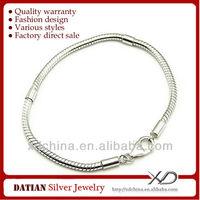 XD PDLS1 925 sterling silver 3.0mm snake chain bracelet