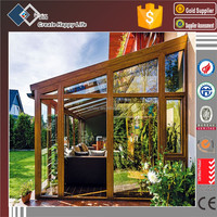 European Style Aluminum outdoor glass sun room