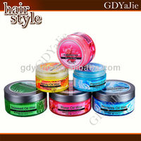 Plant extracts hair pudding wax styling super wax for men