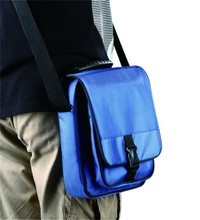 Special design messenger bags blue men leather shoulder bag