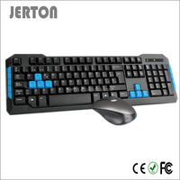 High end 2.4G multimedia new arrival wireless keyboard mouse combo
