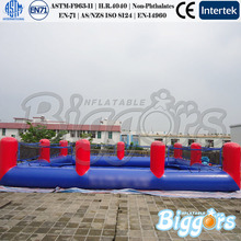 Outdoor Inflatable Sports Games Football Field With Water