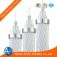 High Quality Peacock 605 MCM ASTM B232 Aluminium Conductor steel Reinforced Bare Conductor ACSR with manufacturer price cable
