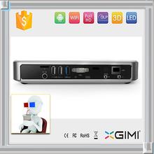 3D Mini WIFI LED proyector incorporado en el reproductor de DVD 1500 Lumen
