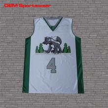 White tee shirts sportswear jersey basketball wholesale